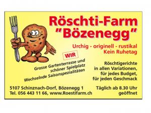 Röschti Farm Bözenegg